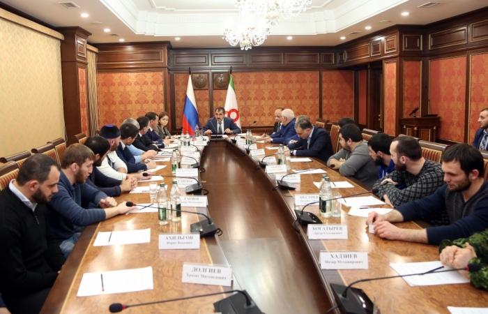Сегодня под председательством премьер-министра ингушетии алексея воробьева прошло совещание